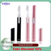 Velec Electric Eyebrow Shaver Face Scissors Hair Remover - $5.21+