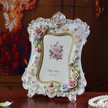 Korean rural style resin rose coloured picture frame - $37.95