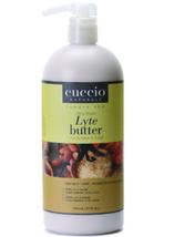 Cuccio Lytes Ultra Sheer Body Butter,  Vanilla Bean & Sugarcane   32 oz