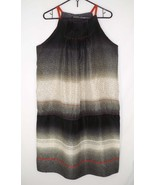 Rozae Nichols M Medium 100% Silk Dress Printed Loose A-line - $43.19