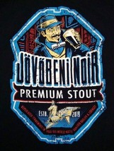 Jovobeni Noir Premium Stout Woot!.com Beer From The Future Soft T Shirt XL - $14.84