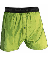 1 Men's Duluth Trading Co Buck Naked Performance Boxers 67019 in Lime Green - $27.19