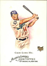 2008 Topps Allen and Ginter #22 Chin-Lung Hu Rookie baseball Card - $0.95
