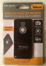 Targus Wireless Shutter Release - Infrared Remote For Nikon DSLR Cameras - NEW - $13.06