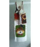 Fall Velour Hanging Towel - $3.40