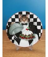 Oneida Sakura Gourmet Cats by Stephanie Stouffer Dessert Plate  - $12.86