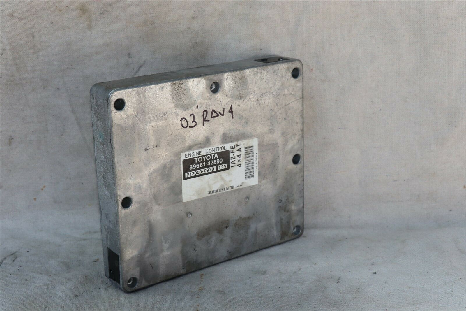 Toyota 1AZ-FE 4x4 A/T ECM ECU Engine Control Module 89661-42890, 212000-0970