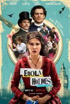 """Enola Holmes Poster Netflix TV Series Art Print Size 11x17"""" 24x36"""" 27x40... - $9.90+"""