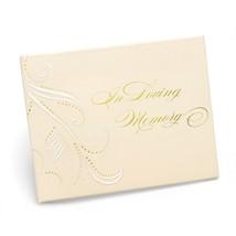 Swirl Dots Memory Guest Book - $40.95