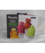 Set of 4 Tovolo Robot Pop Mold Sleeves - New - $16.14