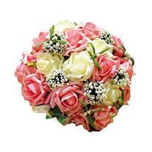 PANDA SUPERSTORE Romantic Wedding Bouquet Wedding Bridal Bouquet Artificial Flow