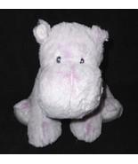 Macys First Impressions Hippopotamus Hippo Frosted Purple Lavender Plush... - $39.58