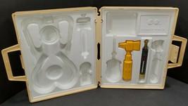 Vintage Fisher Price Doctor Nurse Medical Kit Case 3 Pieces 936 Pretend Toy 1977 - $7.89