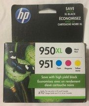 HP 950XL/951 Multi-Color Ink Cartridge Set C2P01FN Sealed Retail Box Free Ship - $943.33