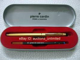 Pierre Cardin Kriss Satin Gold Roller Ball Pen - Brand New 100% Original - $8.99