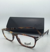 New PERSOL Rx-able Eyeglasses 2972-V 108 51-17 140 Caffe' Tortoise Frame w/Clear