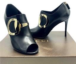 Authentic Womens Black Gucci Ankle Boots SZ 37 - $595.00