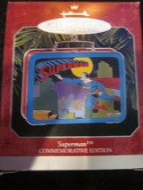 HALLMARK KEEPSAKE ORNAMENT 1998 SUPERMAN PRESSED TIN LUNCHBOX COMMEMORATIVE - $9.99
