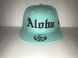 New Era x The Farmers Market Aloha Tiffany Limited Edition Snapback Hat Cap - £71.54 GBP