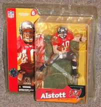 2003 McFarlane NFL Tampa Bay Buccaneers Mike Alstott Figure New In The P... - $27.99