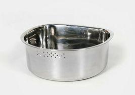 MarketB Stainless Steel Dishpan Basin Dish Washing Bowl Bucket Basket (D Shape) image 4