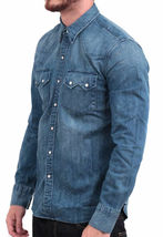 Levi's Men's Classic Long Sleeve Denim Button Up Casual Dress Shirt 81005 image 3