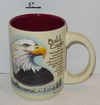 Bald Eagle Coffee Mug Cup Ceramic - $14.03