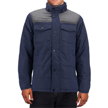 Men's Heavyweight Water And Wind Resistant Removable Hood Insulated Jacket image 4