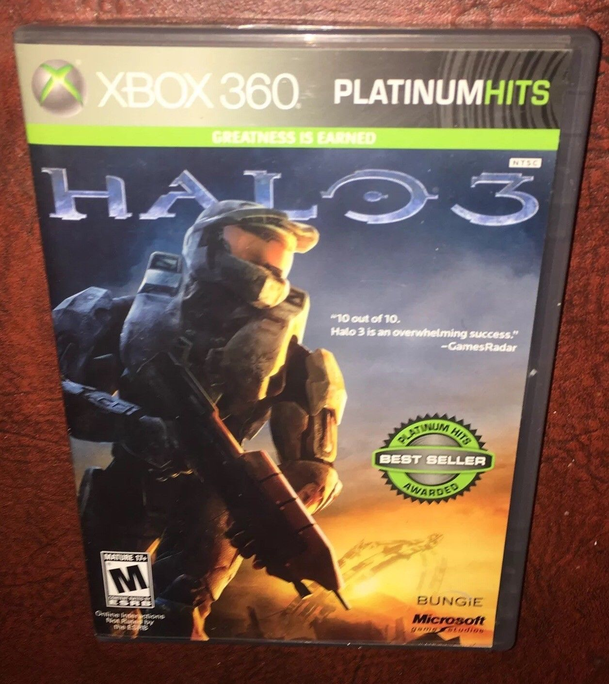 Halo 3 -- Platinum Hits Edition (Microsoft Xbox 360, 2009)COMPLETE FREE SHIPPING