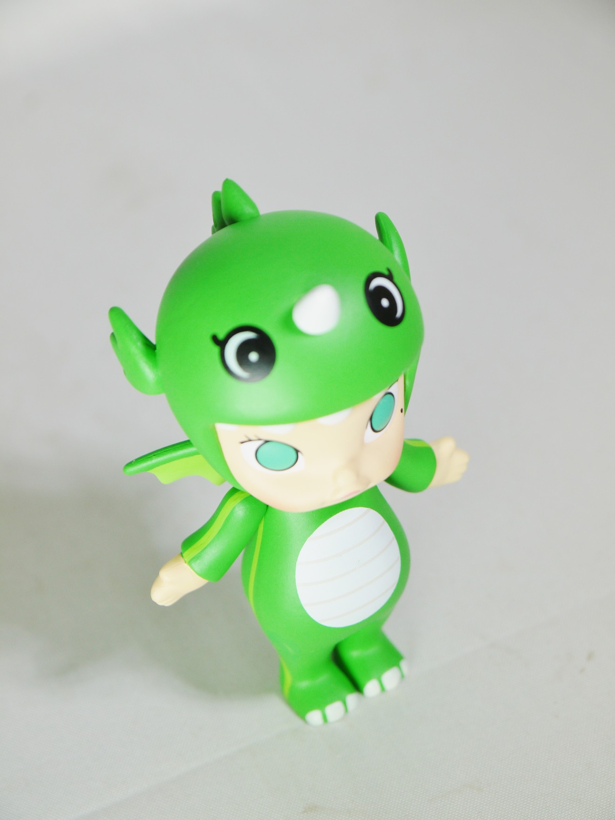 POP MART Kennyswork BLOCK Little Molly Chinese Zodiac Dragon Green Mini Figure