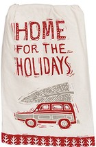 Primitives by Kathy 36157 Christmas Kitchen Dish Towel Set, Home for The... - $13.67
