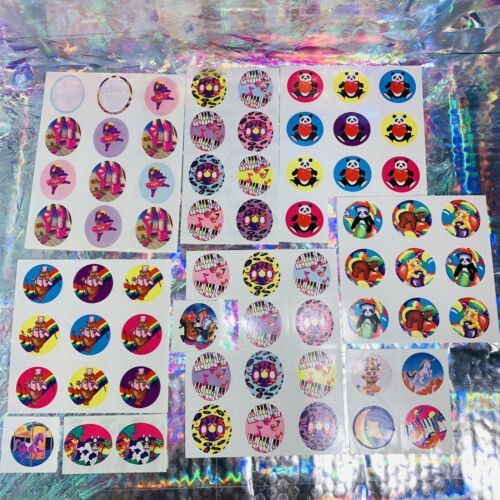 Lisa Frank SIncomplete Mods & Sheets (6mods Per Sheet) S106 S107 S108 S117 S118