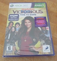 Victorious: Time to Shine (Microsoft Xbox 360, 2011) Brand New - $9.89