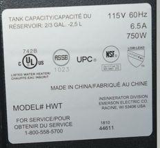Insinkerator H VIEW C Instant Hot Water Dispenser Chrome image 5