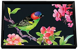 Michel Design Works Wooden Decorative Vanity Tray, Bird Song, 12.25 X 7.75 - $59.70