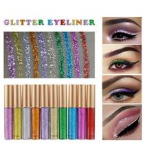 10 Color Waterproof Shimmer Pigment Silver Gold Metallic Liquid Glitters... - $1.70+