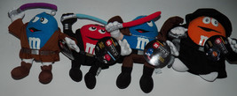 NWT 4 M&M Chocolate Mpire Star Wars Plush Lot Anakin Mace Windu Dooku Pa... - $28.98