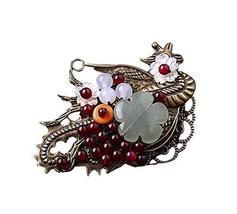 Characteristic Dual Purpose Brooch Pin Collar Clothing Accessories