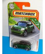 Matchbox 2019 MBX Road Trip #1 '11 Mini Countryman Green Cooper S - $3.00
