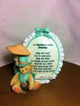 Cherished Teddies Plaque A Cherished Irish Blessing NIB - $24.65