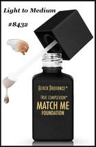 2X Black Radiance True Complextion Match Me Foundation ~ Light to Medium... - $6.95