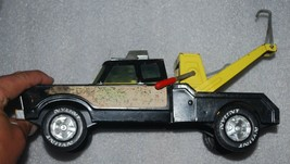 vintage tin toy-Nylint Wrecker truck tow truck  complete with hook - $46.74