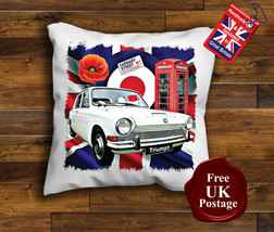 Triumph 1300 Cushion Cover, Triumph 1300 Cushion, Union Jack, Target, Poppy, - $9.01+