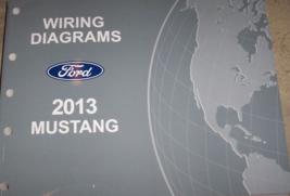 2013 Ford MUSTANG Elettrico Cablaggio Diagramma Diagrammi IN Manuale Ewd - $49.45