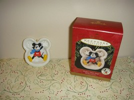 Hallmark 1997 Mickey's Snow Angel Ornament - $10.49