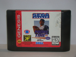 SEGA GENESIS - PRIME TIME NFL FOOTBALL (Game Only) - $10.00