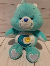 Plush 9 Inch Care Bear Bedtime Bear 2002 - $8.90