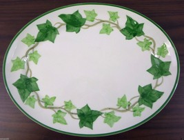 "Vintage Franciscan Ivy (American) Pattern 13"" Oval Serving Platter USA P... - $19.79"