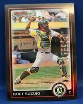 2010 (Athletics) Bowman Chrome Kurt Suzuki Baseball card #103 - $0.99