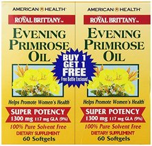 American Health Royal Brittany Evening Primrose Oil Softgels, 2 Pack - Promotes  - $22.09